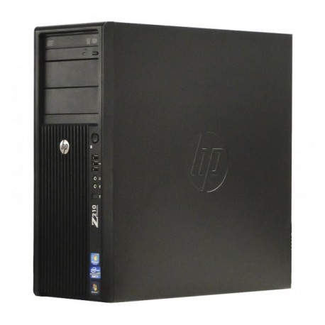 Workstation HP Z210 Tower, Intel Core i7 2600 3.4 GHz, 4 GB DDR3 ECC, 320 GB HDD SATA, DVDRW, Placa video nVidia GeForce GT610,