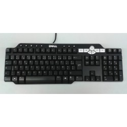 Tastatura Multimedia DELL, SK-8135, USB, AZERTY