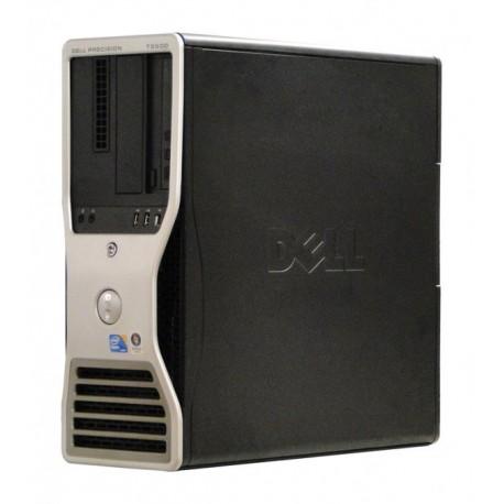 Workstation Dell Precision T3500 Tower, Intel Dual Core Xeon W3503 2.4 GHz, 2 GB DDR3, 250 GB HDD SATA, DVDRW, Placa Grafica