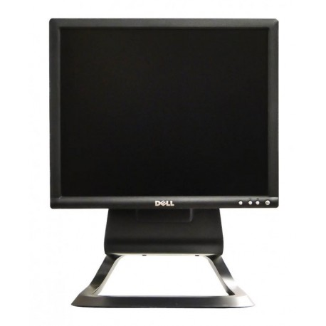 Monitor 17 inch LCD DELL 1706FP, Silver & Black