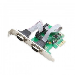 Adaptor slot PCI-e 1x - 2 x Serial Port DB9