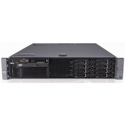 Server DELL PowerEdge R710, Rackabil 2U, 2 Procesoare Intel Six Core Xeon X5675 3.07 GHz, 48 GB DDR3 ECC Reg, 8 x 1 TB HDD SATA