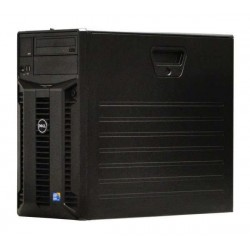 Server Dell PowerEdge T310, Tower, Intel Quad Core Xeon X3430 2.4 GHz, 2 GB DDR3 ECC, 2 x 1 TB HDD SAS NOU, DVDRW, Raid