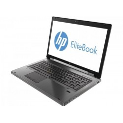 Laptop HP EliteBook 8770w, Intel Core i5 3360M 2.8 GHz, 4 GB DDR3, 2 x 240 GB SSD NOU, DVDRW, AMD FirePro M4000, WI-FI,