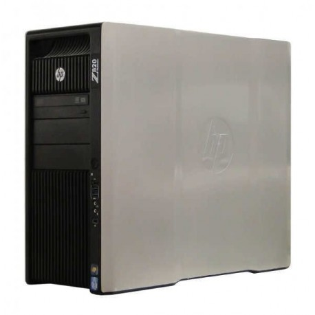 Workstation HP Z820 Tower, 2 Procesoare Intel Octa Core Xeon E5-2670 2.6 GHz, 32 GB DDR3 ECC, 2 x 240 GB SSD NOU, DVDRW, Placa