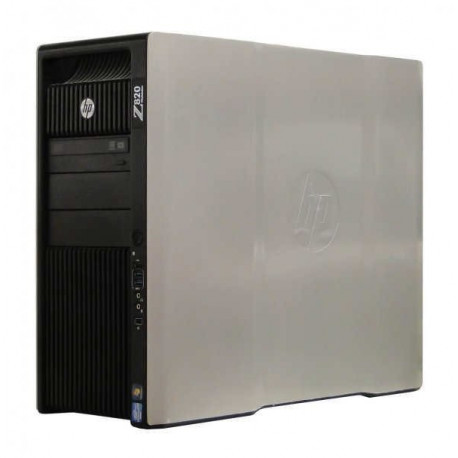 Workstation HP Z820 Tower, 2 Procesoare Intel Octa Core Xeon E5-2670 2.6 GHz, 32 GB DDR3 ECC, 2 x 1 TB HDD SAS NOU, DVDRW, Placa