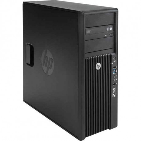 Workstation HP Z420 Tower, Intel Quad Core Xeon E5-1620 3.6 GHz, 32 GB DDR3 ECC, 240 GB SSD NOU, DVD-ROM, nVidia Quadro K2000,
