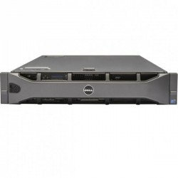 Server DELL PowerEdge R710, Rackabil 2U, 2 Procesoare Intel Six Core Xeon X5690 3.46 GHz, 48 GB DDR3 ECC Reg, 6 x 480 GB SSD