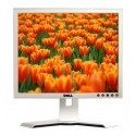 Monitor 17 inch LCD DELL 1707FP, Silver & Black, Garantie pe Viata