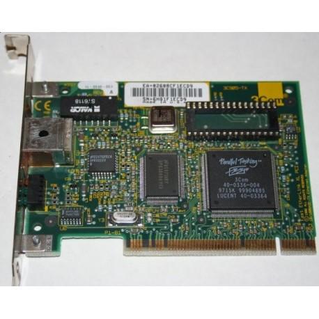 Placa de retea PCI 3COM, 10/100