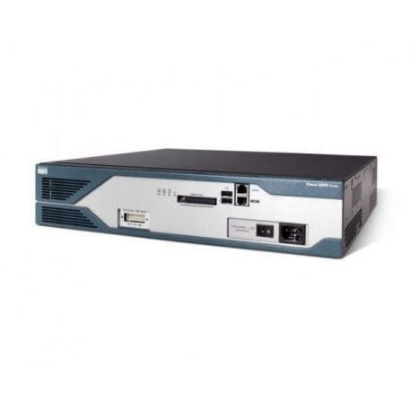 Router Cisco 2821 2GE, Base Unit