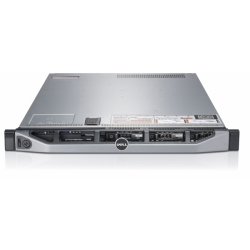 Server DELL PowerEdge R610, Rackabil 1U, 2 Procesoare Intel Quad Core Xeon E5620 2.4 GHz, 8 GB DDR3 ECC Reg, 4 x 240 GB SSD NOU,