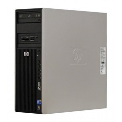 Workstation HP Z400 Tower, Intel Xeon W3580 3.33 GHz, 8 GB DDR3 ECC, 2 TB SATA 64 MB cache7200 rpm NOU, DVD-ROM, nVidia Quadro