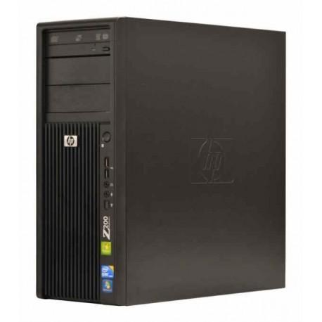 Workstation HP Z200 Tower, Intel Core i3 540 3.07 Ghz, 4 GB DDR3, 320 GB HDD SATA, DVDRW, nVidia Quadro NVS 290, Windows 10,